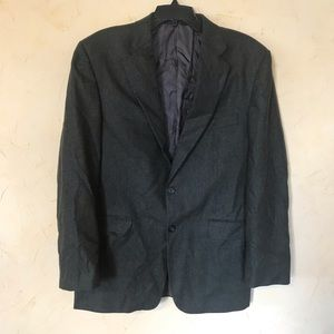 Burberry London Wool Green Sports Coat